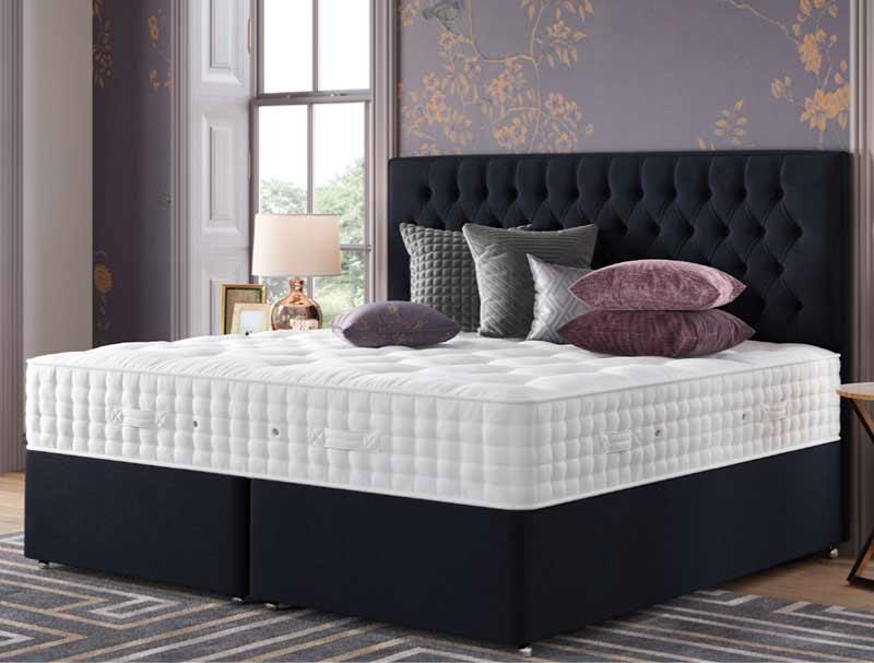 Relyon grandee 2400 pocket sprung divan bed buy online for The best divan beds