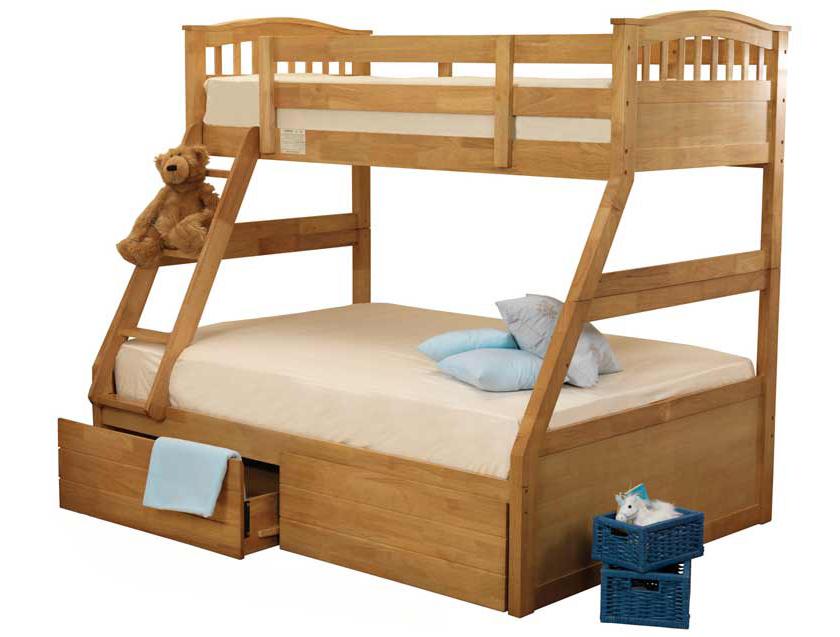 Sweet Dreams Epsom 3 Sleeper Bunk Bed Buy Online At Bestpricebeds