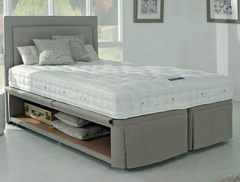 Hypnos Hideaway Storage Bed Base Buy Online At Bestpricebeds