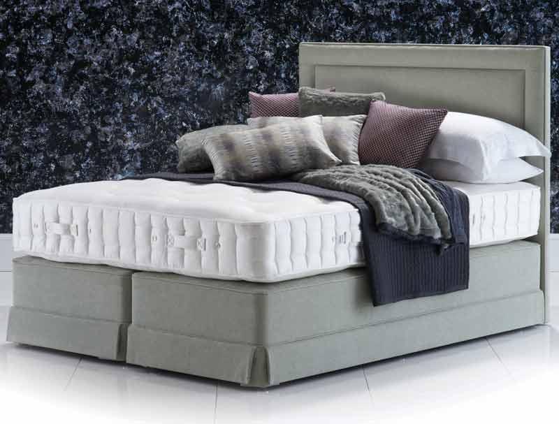 Hypnos aspen supreme divan bed buy online at bestpricebeds for Best value divan beds