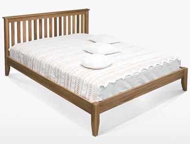 Bestpricebeds Medway Natural Oak Bed Frame