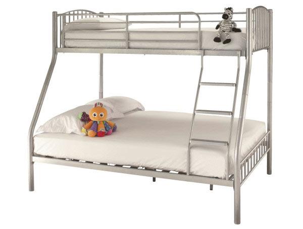 Serene Oslo Triple Metal Bunk Bed Buy Online At Bestpricebeds