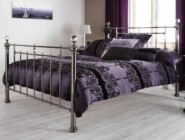 Chrome Bed Frame Small Double