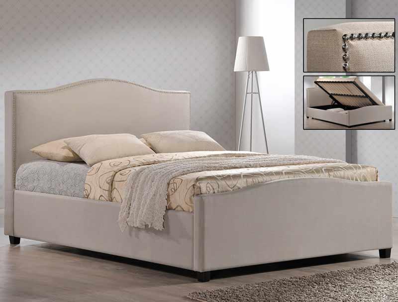 time living brunswick side open ottoman bed frame buy. Black Bedroom Furniture Sets. Home Design Ideas
