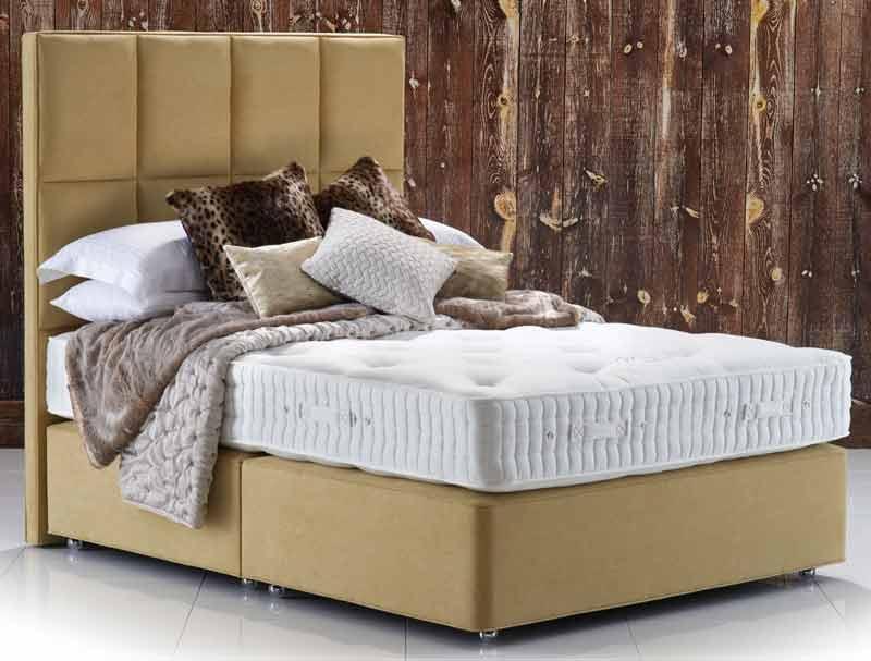 Hypnos maple superb divan bed buy online at bestpricebeds for Best value divan beds