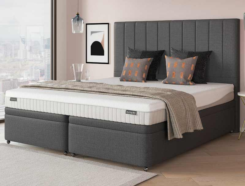 Dunlopillo firmrest divan bed buy online at bestpricebeds for Best value divan beds