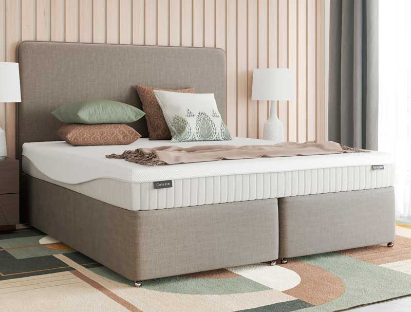 Dunlopillo celeste divan bed buy online at bestpricebeds for Divan bed offers
