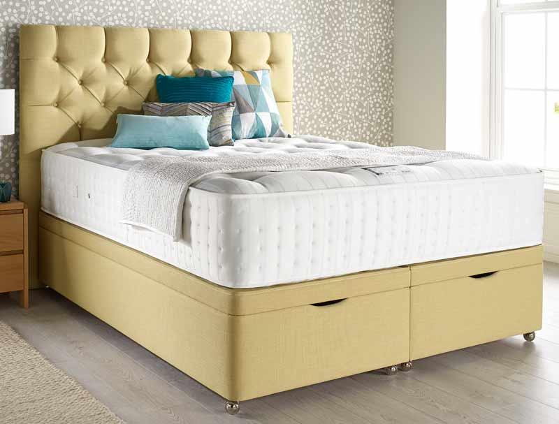 Relyon natural ortho superb 2200 pocket divan bed buy for Best value divan beds