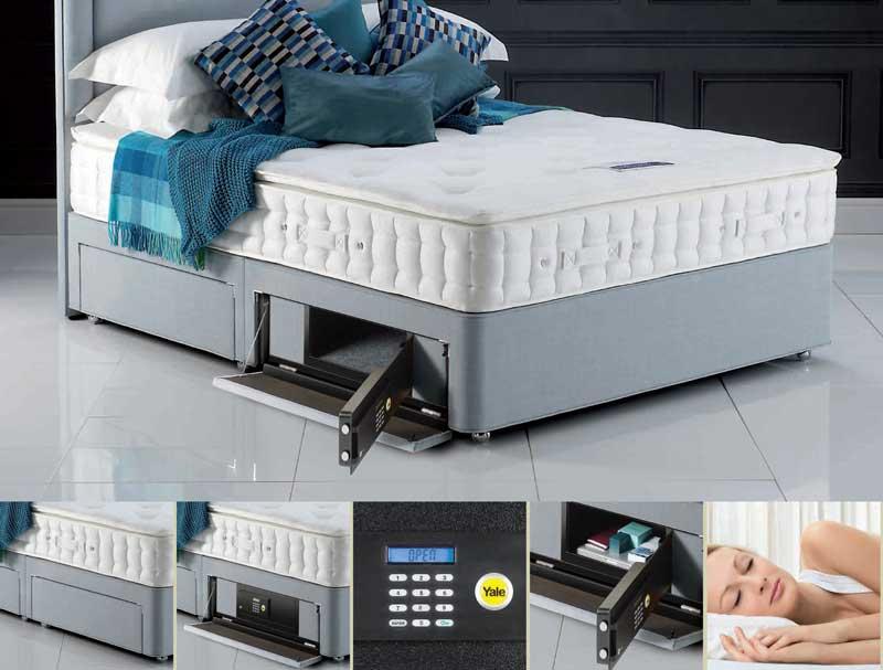 Hypnos Hidden Bed Safe Drawer
