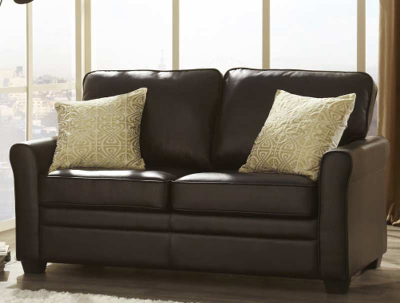 Serene Naples Faux Leather Sofa Bed Buy Online At
