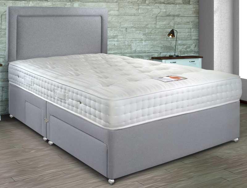 Sleepeezee ultrafirm 1600 pocket divan bed buy online at for Best value divan beds