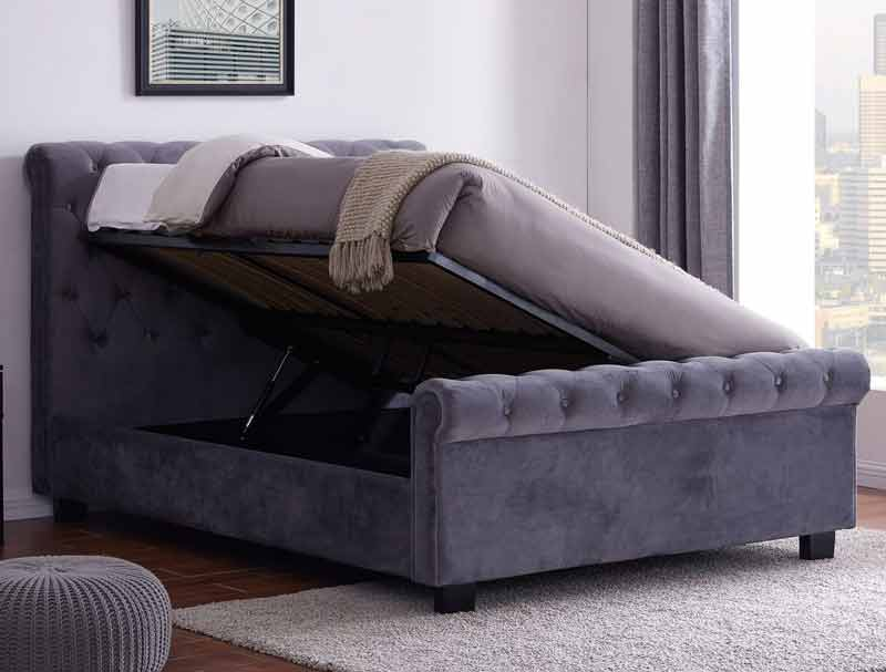 Flintshire Whitford Fabric Ottoman Bed Frame Buy Online