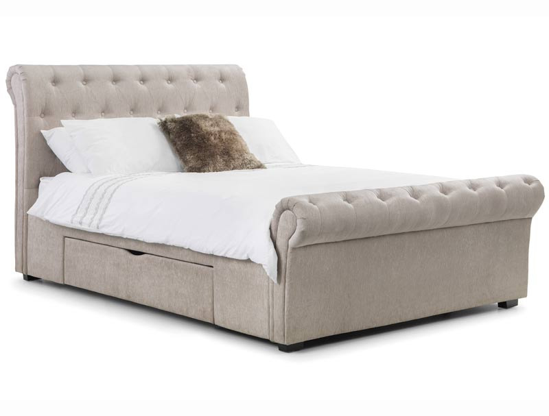 Julian Bowen Raverne Storage Bed Frame - Buy Online at BestPriceBeds