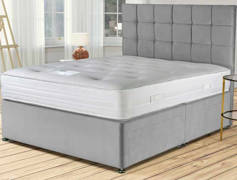 Siesta grosvenor 1000 pocket divan bed buy online at for Best value divan beds