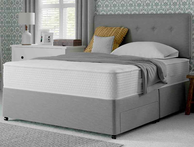 Myers supreme memory comfort 1400 pocket divan bed buy for Best value divan beds