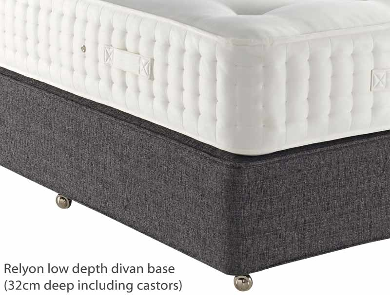 Relyon Balmoral 2000 Pocketed Spring Divan Bed Buy