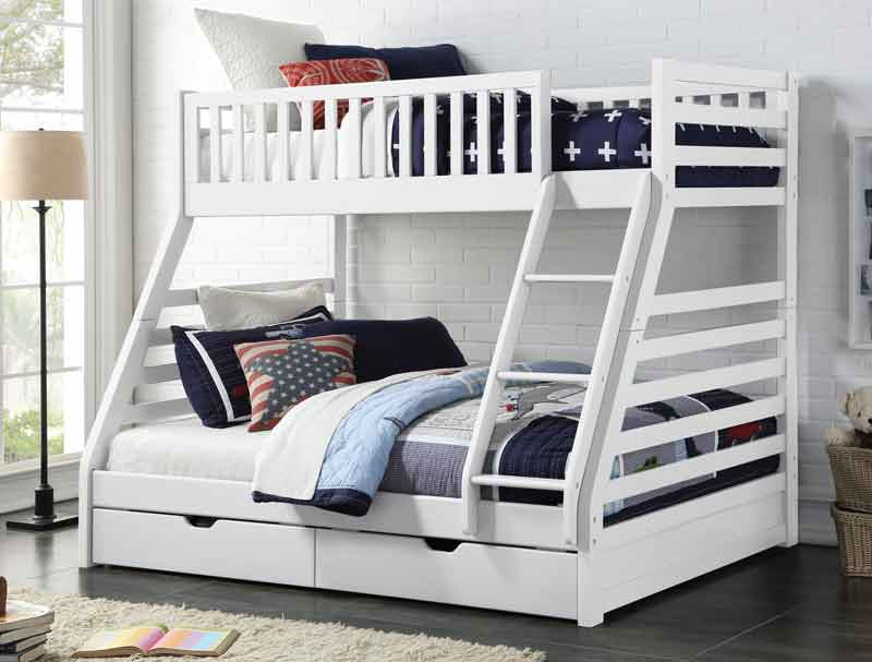 Sweet Dreams Galaxy Triple Bunk With Under Bed Drawers Buy Online