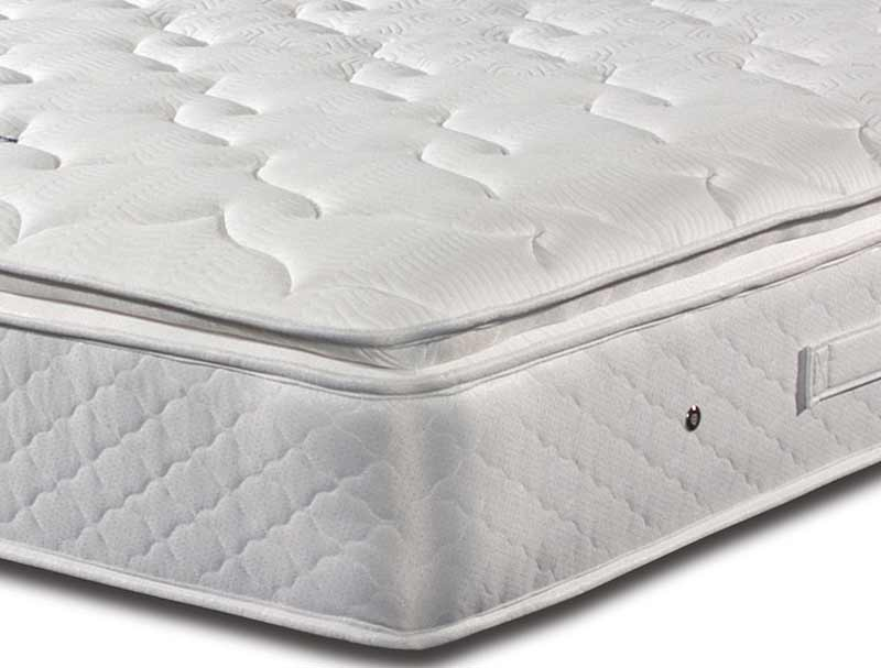 Sleepeezee Memory Comfort 1000 Pillow Top Pocket Divan Bed