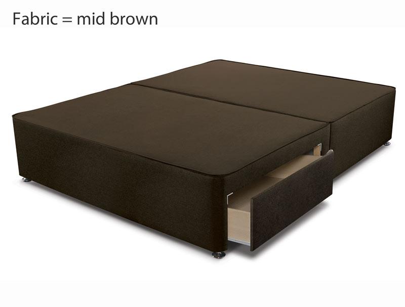Sleepeezee Memory Comfort 1000 Pillow Top Pocket Divan Bed