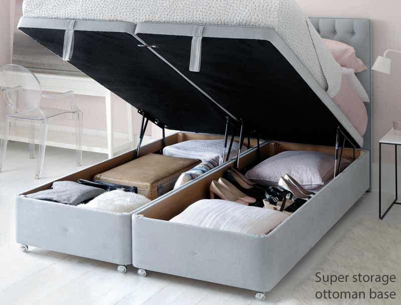 Hypnos Luxury No Turn Superb Divan Bed Buy Online At