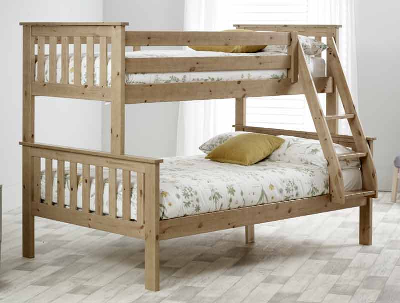 bedmaster carra triple sleeper bunk bed frame buy online at bestpricebeds. Black Bedroom Furniture Sets. Home Design Ideas