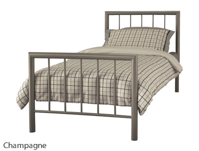 Serene Modena Modern Metal Bed Frame Buy Online At Bestpricebeds