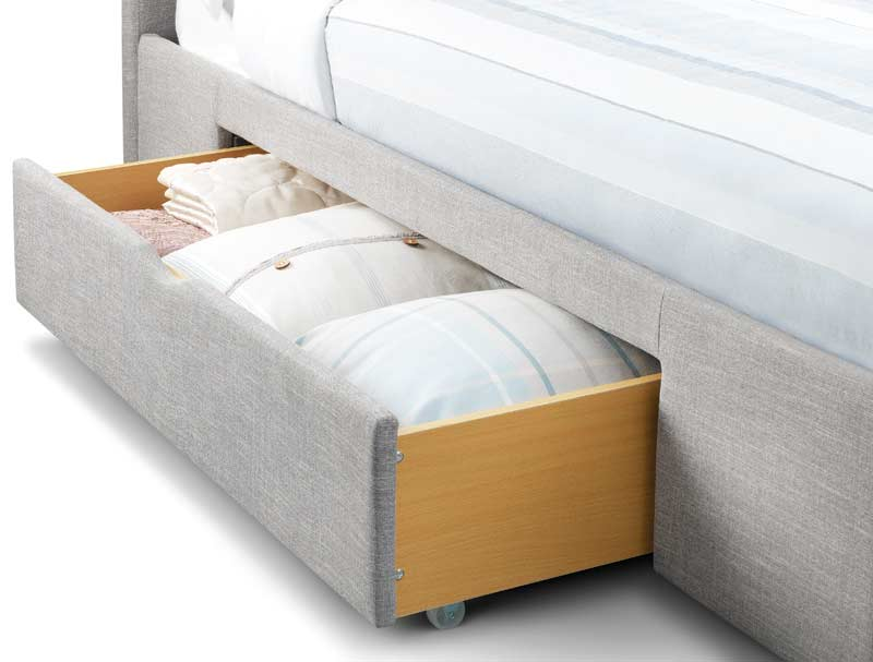 Julian Bowen Capone/Capri Storage Fabric Bed frame