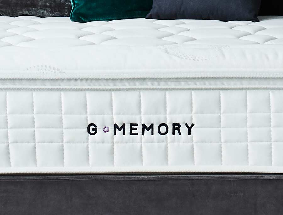 Sleepeezee G3 Graphite Memory & 3200 Pocket Divan Bed