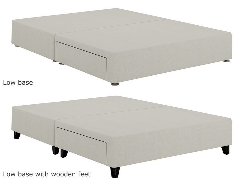 Relyon Repose New Gel Fusion 2800 Pocket Divan Bed