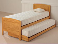 Relyon Deluxe Guest Bed Golden Oak Finish