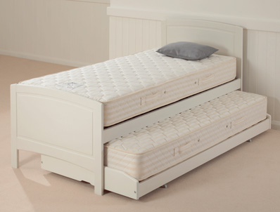 Relyon Deluxe Guest Bed Painted Ivory/white