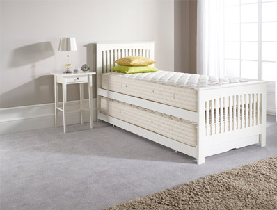 Relyon Duo / Juno  White Guest Bed