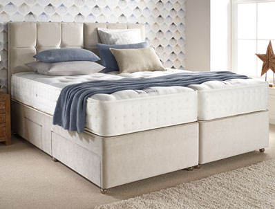 Relyon Exquisite 1200 Pocket Spring Divan Bed