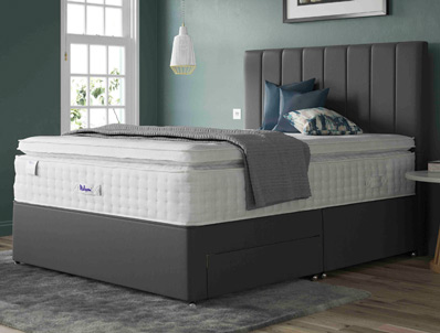 Relyon Lovelace Memory Pocket 2400 Divan Bed