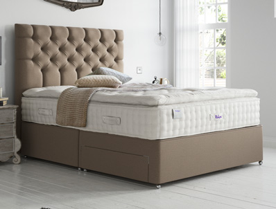 Relyon Luxury Silk 2850 Pocket Divan Bed