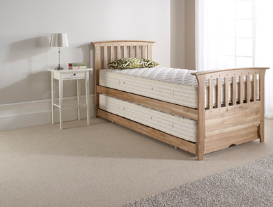 Relyon New England Waxed Ash  Guest Bed