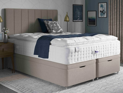 Relyon Pencarrow Pillow Top 2850 Pocket Divan Bed