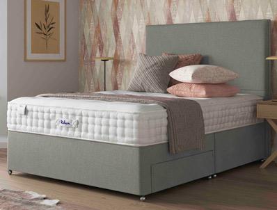 Relyon pocket memory classic 1500 pocket divan bed buy for Best value divan beds