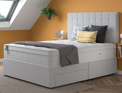 Relyon Repose Gel Fusion 2400 Pocket Divan Bed