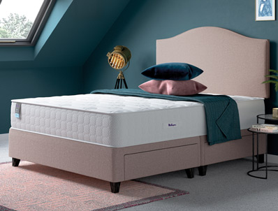 Relyon Repose New Gel Fusion 1600 Pocket Divan Bed