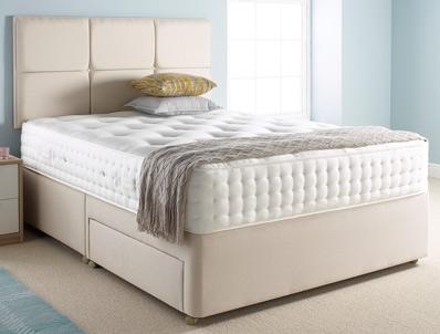 Relyon splendid 1500 pocket divan bed buy online at for Best value divan beds