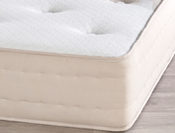 Relyon Wool & Silk 1190 Natural Pocket Mattress Rolled