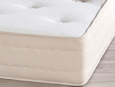Relyon Wool/Silk & Cashmere 1390 Natural Pocket Mattress Rolled