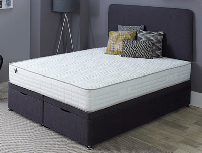 Salus Absolute Firm 1200 Pocket & IPlus Divan Bed