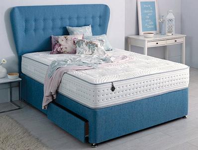 Salus Contempo V1500 Pocket & Viscool Divan Bed