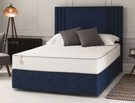 Salus Cypress 1500 Pocket & Iplus Foam Divan Bed