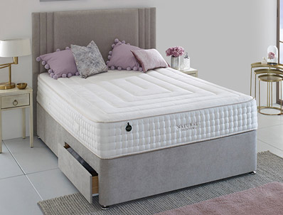 Salus Elder 3350 Pocket Natural Divan Bed