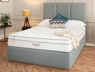 Salus Iris 2250 Pocket & Viscool Divan Bed