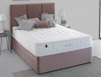 Salus Linden 5000 Pocket & Natural Divan Bed