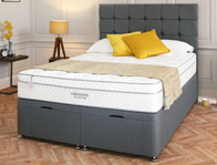 Salus Viscool Tawny 1900 Pocket & Memory Divan Bed